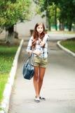 Beautiful teenage girl Stock Image