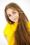 Beautiful teenage girl smiling Royalty Free Stock Image