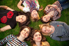 Beautiful teenage girls Stock Images