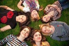 Beautiful teenage girls stock images
