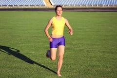 Beautiful teenage sport girl Stock Photography