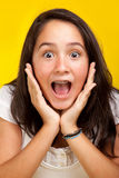Beautiful teenager Stock Image