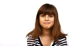 Beautiful teenager Royalty Free Stock Images