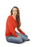 Beautiful teenager Stock Photos