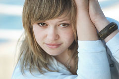 Beautiful teenager Royalty Free Stock Photos
