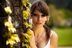 Beautiful teenager girl Stock Photography