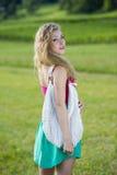 Beautiful teenager girl stock image