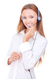 Beautiful teenager with headphones Stock Photo