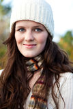 Beautiful teenager outdoor Royalty Free Stock Photos
