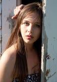 Beautiful Teenager Outside Stock Photo
