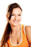 Beautiful teenager smiling Royalty Free Stock Image