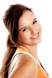 Beautiful teenager smiling Stock Images