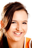 Beautiful teenager smiling Royalty Free Stock Photography