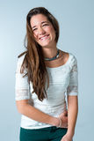 Beautiful Teenager Smiling Stock Image