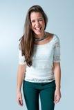 Beautiful Teenager Smiling Stock Image
