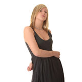 Beautiful teenager young blond girl Stock Photo