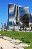 Beautiful Tel Aviv promenade Royalty Free Stock Photos