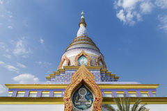 Beautiful temple architecture from North Thailand. Outdoor sunny day light Royalty Free Stock Images