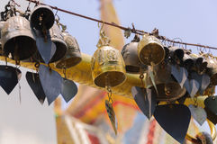 Beautiful temple bell Stock Image