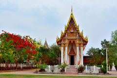 Beautiful temple in the countryside. Beautiful temple on the countryside in Thailand Royalty Free Stock Photo