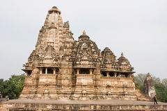 Beautiful temple of Khajuraho Group of Monuments Stock Photography