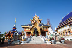Beautiful Temple in northern Thailand Stock Image