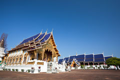 Beautiful Temple in northern Thailand Royalty Free Stock Photo