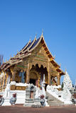 Beautiful Temple in northern Thailand Stock Images