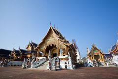 Beautiful Temple in northern Thailand Stock Photos