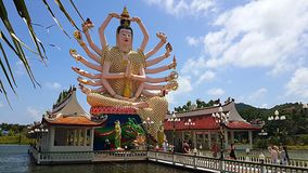 Beautiful temple relgion  lifestyle thailand Royalty Free Stock Image