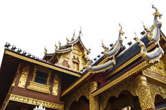 Beautiful temple in Thailand. Royalty Free Stock Photography