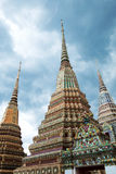 Beautiful Temple in Thailand. Beautiful Temple in Bangkok,Thailand (Temple named Wat Pho Royalty Free Stock Image