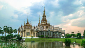 Beautiful temple  Thailand. Royalty Free Stock Photo