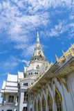 Beautiful temple in Thailand. Royalty Free Stock Image