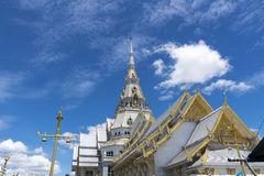 Beautiful temple in Thailand. Royalty Free Stock Images