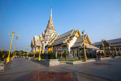 A beautiful temple in Thailand. (Wat Sothon, Chachoengsao Royalty Free Stock Image