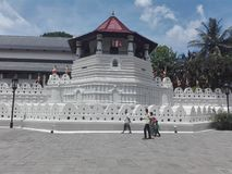 BEAUTIFUL TEMPLE OF TOOTH OF SRILANKA royalty free stock photos