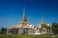 The beautiful temple at Wat Luang Phor Tor in Korat Stock Photography