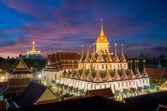 Beautiful temple Wat Ratchanadda in Bangkok, Thailand Royalty Free Stock Photo