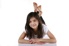 Beautiful ten year old girl Royalty Free Stock Images