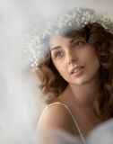 Beautiful tender girl portrait Royalty Free Stock Photography