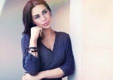 Beautiful tender woman Stock Photos