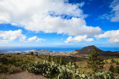 Beautiful Tenerife landscape - El Teide Royalty Free Stock Photography