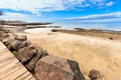 Beautiful Tenerife landscape - Las Americas Stock Images