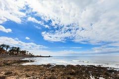 Beautiful Tenerife landscape - Las Americas Royalty Free Stock Images