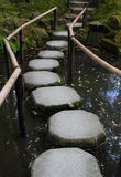 Beautiful Tenhuan garden in Kyoto Royalty Free Stock Photography