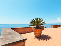 Beautiful terrace Royalty Free Stock Photo