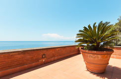 Beautiful terrace Royalty Free Stock Images