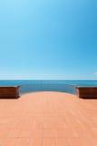 Beautiful terrace Stock Photos