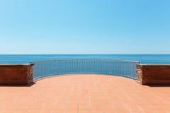 Beautiful terrace Royalty Free Stock Photography
